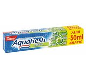 AQUAFRESH Herbal zubná pasta 75ml+50ml