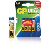 Batéria GP Ultra Plus AAA 4ks
