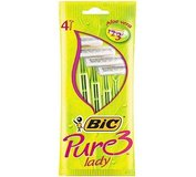 Bic 3 Pure Lady 4ks
