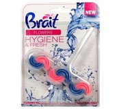 Brait WC blok Hygiene Flowers 45g
