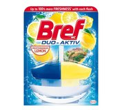 Bref Duo Aktiv Lemon tekutý WC blok komplet 50ml