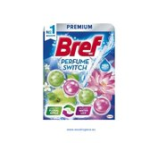 Bref Perfume Switch Floral Apple & Water Lily WC blok 50g