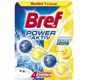 Bref Power Aktiv Lemon Tuhý Wc Blok 50 g