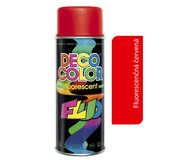 Deco Color Fluorescent 400ml - fluor červený
