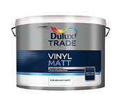 Dulux Trade Vinyl matt Pure Brilliant White biela 10l