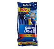 Gillette BLUE II.PLUS 10+4