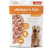 LES FILOUS chicken and fisch 100g