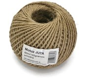 Motúz Juta Natural, 140g, 60m, 2,3mm, BallPack