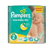 Pampers Giant Pack Mini 100ks