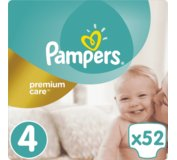 PAMPERS Premium Care plienky MAXI 52 ks