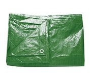 Plachta Tarpaulin Light 4x6m 65g/m zelena