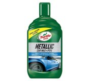 Turtle WAX Metallic Car Wax + PTFE 500ml - vosk pre metalizované laky