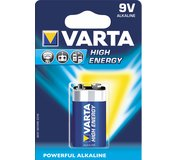 Varta High Energy 9V BL1-Longlife Power