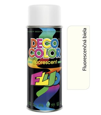Deco Color Fluorescent 400ml - fluor biely