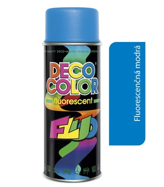 Deco Color Fluorescent 400ml - fluor modrý