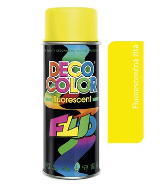 Deco Color Fluorescent 400ml - fluor žltý