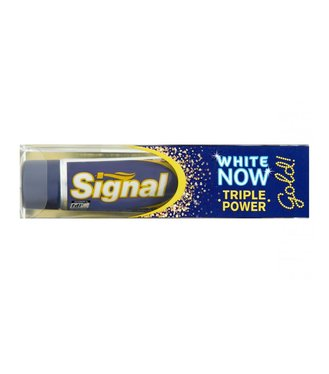 Signal White Now GOLD  zubná pasta 50ml