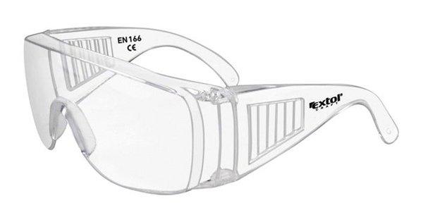 Okuliare ochranné polykarbonát skladacie Extol Craft 8b78d5e0449