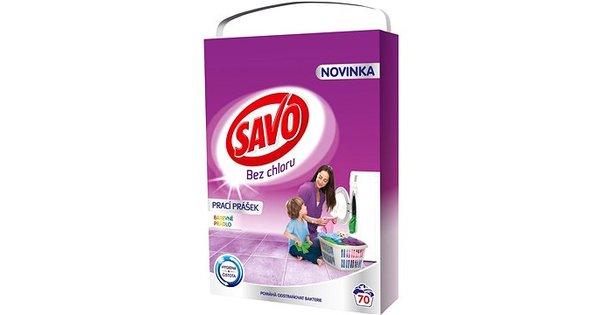 0955989b2 Savo prášok na pranie bez chlóru na farebnú bielizeň 5kg, 70 praní