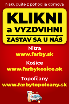 Klikni a vyzdvihni - stavebniny, farby, laky, náradie, podlahy Nitra, Košice, Topoľčany