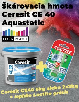 Škárovka Ceresit CE40 akcia